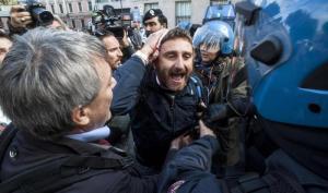 Ast: Landini, ci hanno menato, non siamo delinquenti